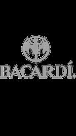 Grey Bacardi Logo